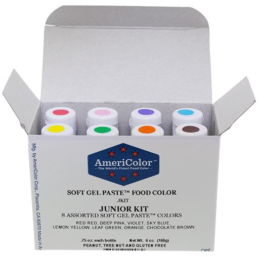 .75 oz Soft Gel Paste 8 Color Junior Kit